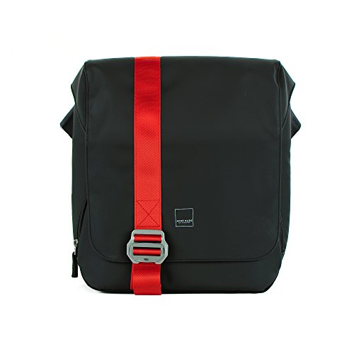 Acme Made - North Point Messenger (Matte Black/Tangerine) (AM20411) ()