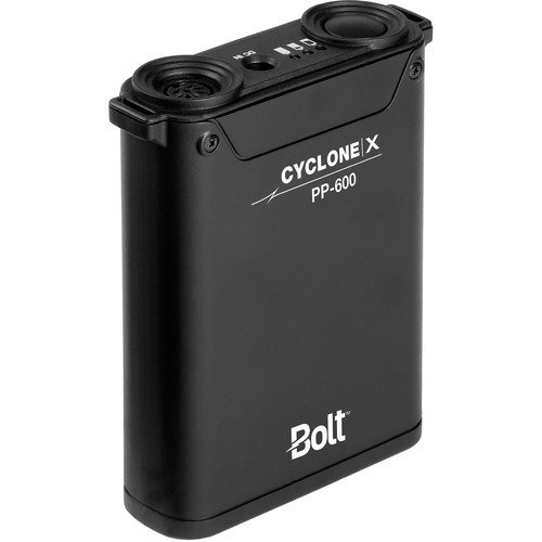 Bolt Cyclone X PP-600 Compact Power Pack for Portable Flashes(3 Pack) by Unknown