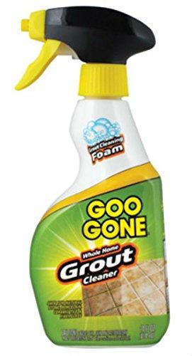 Goo Gone Grout & Tile Cleaner, Foaming Formula, Fast-Acting, Citrus Power, Works on Unsealed Grout & Tile - 28  fl oz