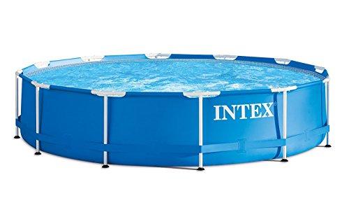 Premium-Pool-457x122-cm-Schwimmbad-Metallrahmen