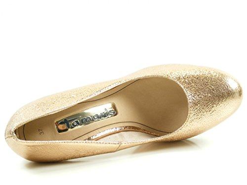 Tamaris Donna con 22407 Tacco Scarpe Gold rwar6Sq