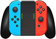 Joycon Comfort Grip for Nintendo Switch by TalkWorks   Controller Game Accessories Handheld Joystick Remote Co
