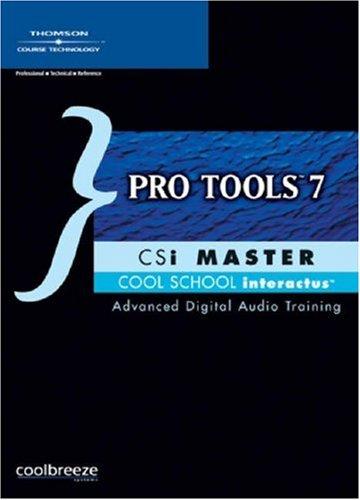 Pro Tools 7 CSi Master - Cd Master Csi Rom