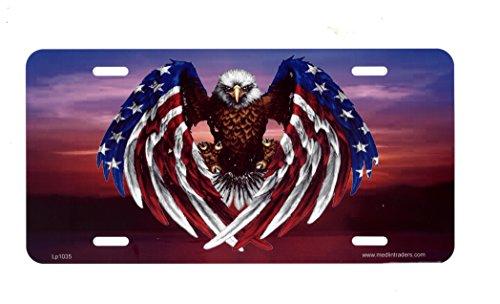 (American Flag Eagle Plate)