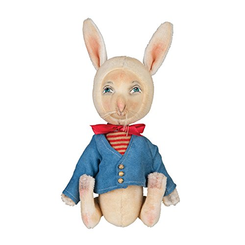 GALLERIE II Orson Spring Easter Bunny Rabbit Joe Spencer Gathered Traditions Art Doll Figures Figurines Decor Decoration Orson