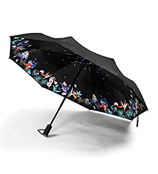 290ff37a107c Amazon|REMAX 折り畳み傘 自動開閉傘 105センチ 晴雨兼用 高強度傘骨 ...