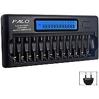 Carregador Pilhas Palo PL-NC30 12 slots