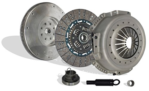 (Clutch Kit Works With And Flywheel Dodge Ram 2500 3500 Base Extended Standard Cab Pickup 1994-1998 5.9L l6 DIESEL OHV Turbocharged)