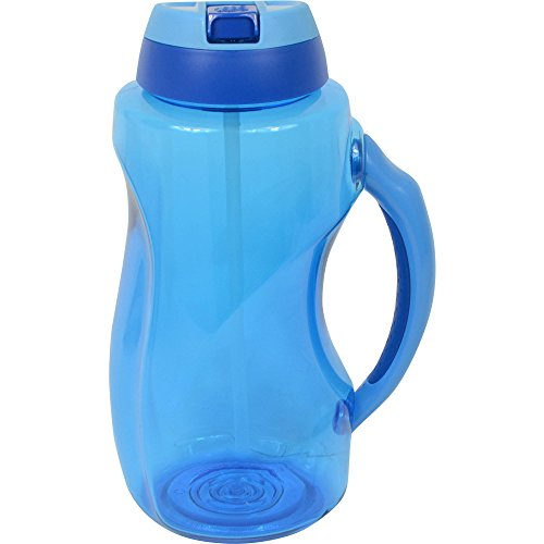 Cool Gear 63 oz Dual Wave Water Bottle, Blue