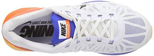 Nike Lunarglide 6 - Zapatillas de running para hombre Mehrfarbig (White/Blk-Hypr Crmsn-Hypr Cblt)