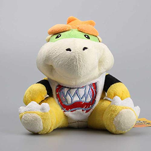 Super Mario Koopa Bowser JR Cute Stuffed Dolls Plush Toys for Children -