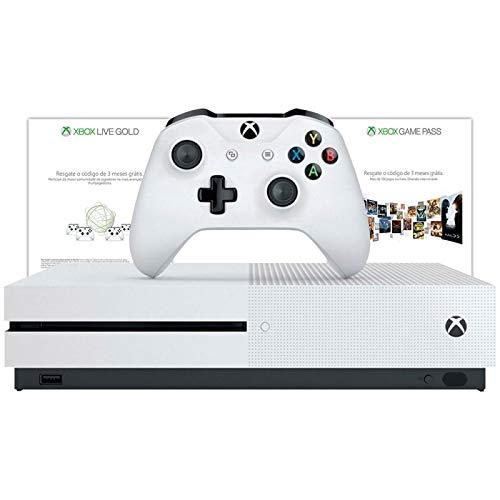 Console Xbox One S - 1TB + 3 meses de Gold + 3 meses de Gamepass (Versão Nacional)