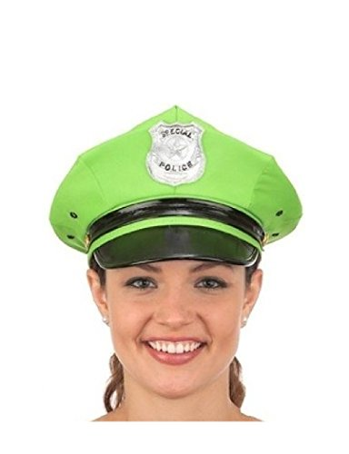 Womens Sexy Hot Police Hat Costume Officer Policeman Police Man Cop Accessory (Hot Cop Costumes)