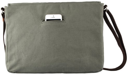 Toffee Fitzroy Satchel for most Laptops up to 15.4-inch (Green) by Toffee (Image #1)