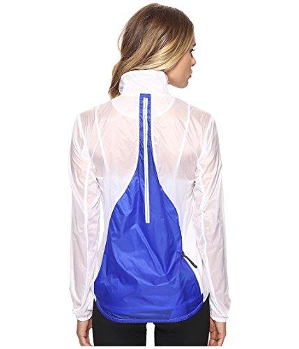 Brooks Womens LSD Jacket weiß/kobalt