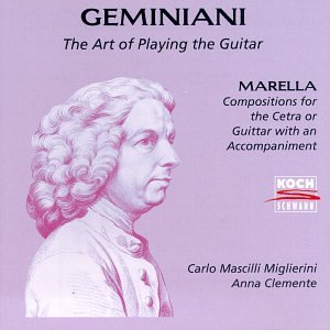 Francesco geminiani giovanni battista marella carlo for The craft of musical composition