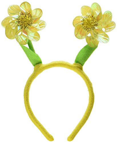 Flower Pinwheel Boppers (asstd colors) Party Accessory  (1 count) (1/Pkg) (Festive Costume)