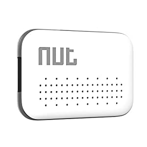 Nut Mini-White GPS Tracker Bluetooth pour Smartphone Blanc