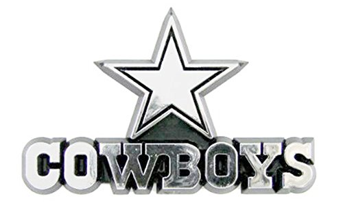 Die Cut Hall of Fame Memorabilia Dallas Cowboys Color Auto Emblem