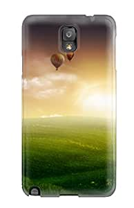 Megan S Deitz's Shop Christmas Gifts Faddish Nature Balloon Ride Case Cover For Galaxy Note 3 2561289K56642399