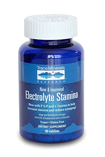 Trace Minerals Electrolyte Stamina Tablets, 90-Count
