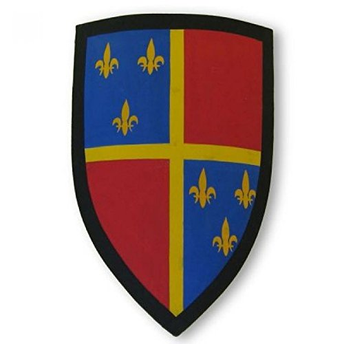 Medieval Fleur Shield – 木製