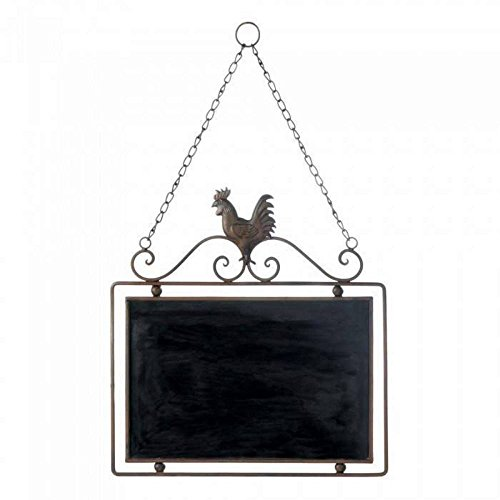 Rooster Message Board Wall Decor ()