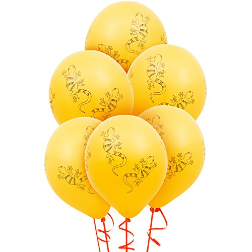 BirthdayExpress Jungle Party Supplies - Latex Balloons (6) ()