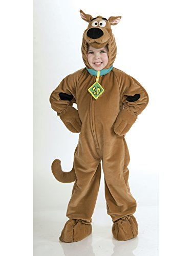 Scooby - Doo Child's Deluxe Scooby Costume, (Do Halloween Costumes Run Small)