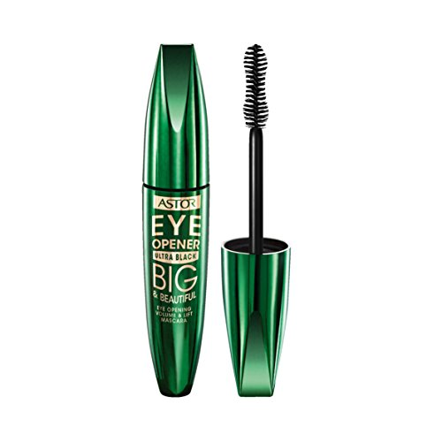 Astor Big und Beautiful Eye Opener Mascara, Farbe 910 ultra black, 1er Pack (1 x 12 ml)