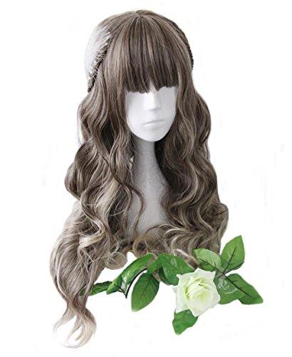 aiyaya Long Curly Wig Synthetic product image