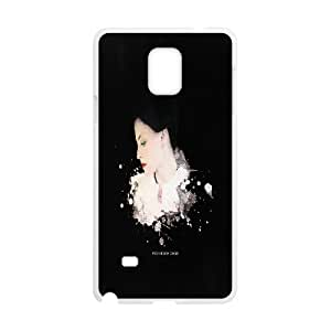 J-LV-F Customized Sherlock Hard Cover Case For Samsung Galaxy Note 4