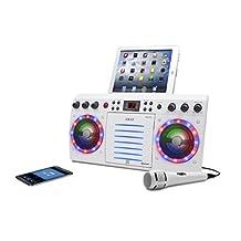Akai KS303W-BT Bluetooth CD and G Karaoke System, White
