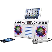 Akai KS303W-BT Bluetooth CD&G Karaoke System, White