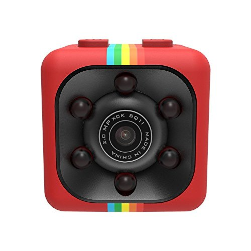 Price comparison product image Borme Spy Hidden Camera Car recorder DVR, Mini Recorder action Camera Full HD 1080P DV Sports Action Camera Spy Camera RED/ With Night Vision