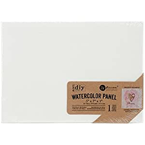 Prima Marketing marketingprima Watercolor Lienzo panel-5-inch (12,7 x 17,8 cm, otros, multicolor
