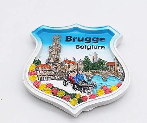 MUYU Magnet 3D Brugge - Imán para Nevera, diseño de Bélgica ...