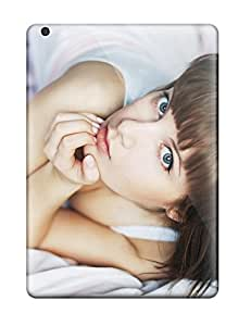 For Ipad Air Fashion Design Girl Wiht Blue Green Eyes Case-lfJFSZZ3685ZRhQs