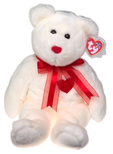 cbb876b4fda Amazon.com  Ty Beanie Buddies Valentino - Bear  Toys   Games