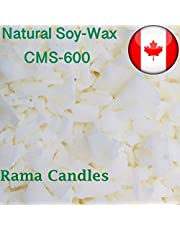 10 LB, Natural Soy Wax Flakes CMS-600 - Excellent for containers-For Candle Making-Instructions include-A