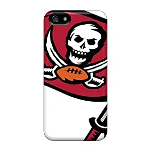 Shock Absorption Hard Phone Cases For Iphone 5/5s With Allow Personal Design Nice Tampa Bay Buccaneers Image SherriFakhry