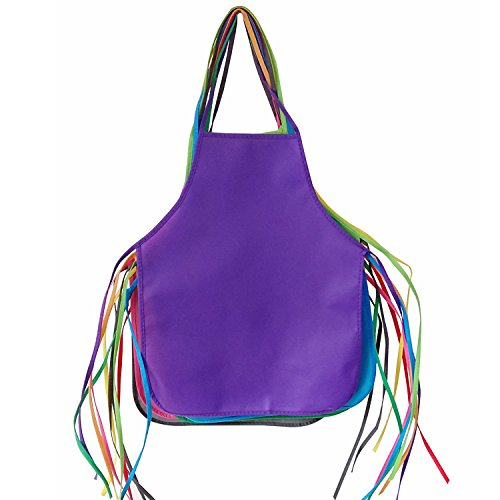Axe Sickle 24pcs Preschool Childrens Apron, Non Woven Painting Aprons, Pre Kindergarten Kids Aprons for Classroom, Community Event and Art Painting Activity 12 Colors Aprons for Children.]()