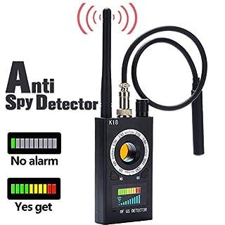 RF Detector Bug Detector, Anti Spy Detector , RF Signal Detector,GSM GPS Tracking Finder, Radio Scanner Wireless Signal Detector Alarm, Hidden Camera Detector