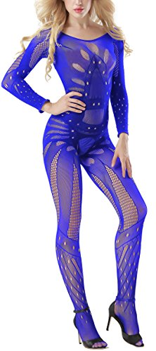 Victory Crotchless Bodysuits Suspender Bodystocking