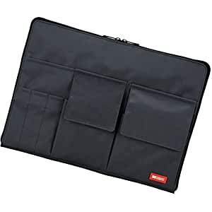 LIHIT LAB Bag-In-Bag (Laptop Sleeve), Black, 10 x 13.8 Inches (A7554-24)