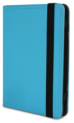LifeForm EON Ocean Blue Synthetic Leather Cover for Kindle (fits Kindle, Kindle Touch, Kindle Paperwhite)