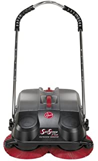 Hoover L1405 SpinSweep Pro Indoor Outdoor Sweeper With Swivel Casters