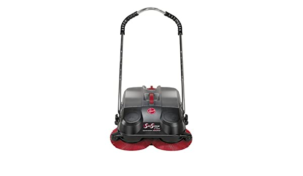 55ec0fa155a Amazon.com  Hoover L1405 SpinSweep Pro Indoor Outdoor Sweeper with Swivel  Casters  Sports   Outdoors