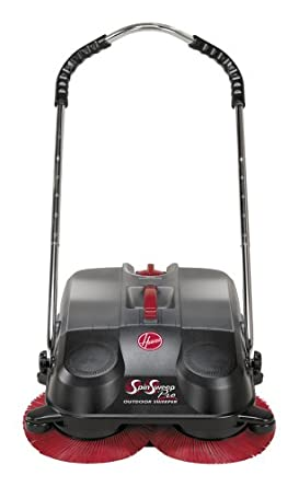 Hoover L1405 SpinSweep Pro Indoor/Outdoor Sweeper with Swivel Casters
