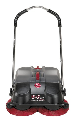 Hoover L1405 SpinSweep Pro Indoor/Outdoor Sweeper with Swivel Casters (Hoover Patio)